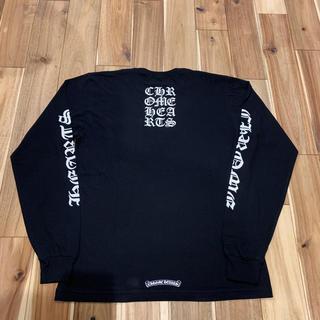 クロムハーツ(Chrome Hearts)の新品 レア クロムハーツ バックスクリプト ロングスリーブ Tシャツ サイズL(Tシャツ/カットソー(七分/長袖))