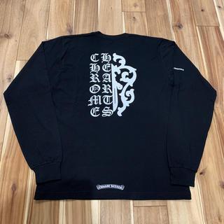 クロムハーツ(Chrome Hearts)の新品 レア クロムハーツ スクリプトダガー ロングスリーブ Tシャツ サイズL(Tシャツ/カットソー(七分/長袖))