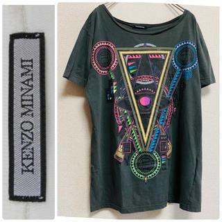 ラフシモンズ(RAF SIMONS)の一点物 Kenzo Minami ケンゾー・ミナミ グラフィック Tシャツ(Tシャツ/カットソー(半袖/袖なし))