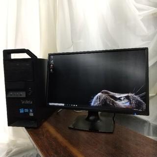 レノボ(Lenovo)のSSD128GB起動GTX1050ti搭載ゲーミングPC メモリ16GB(デスクトップ型PC)