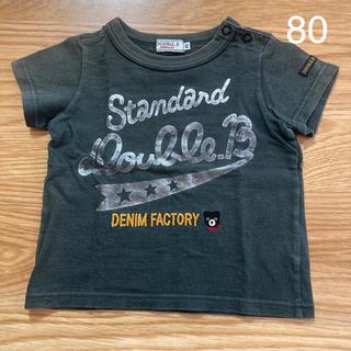 ダブルビー(DOUBLE.B)のDOUBLE.B Tシャツ 80 ミキハウス(Tシャツ)