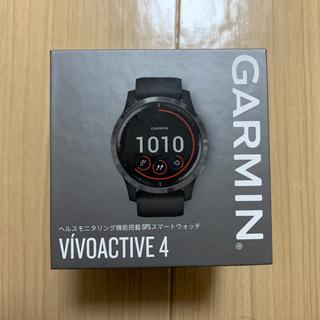 ガーミン(GARMIN)の未使用品 vívoactive 4 Black / Slate(トレーニング用品)