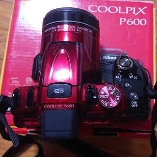 ニコン(Nikon)のNikon P600(コンパクトデジタルカメラ)