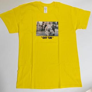 新品 ストリート Tシャツ ボックスロゴ フォトT SNKRS GOT EM(Tシャツ/カットソー(半袖/袖なし))