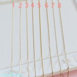 ◆チェーン種類 ゴールド◆(ネックレス)