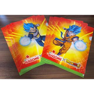 ドラゴンボール(ドラゴンボール)のカゴメ×ドラゴンボール超  A4クリアファイル 計6枚(クリアファイル)