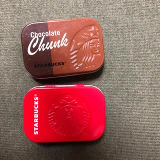 スターバックスコーヒー(Starbucks Coffee)のスターバックス コーヒーミント缶(小物入れ)