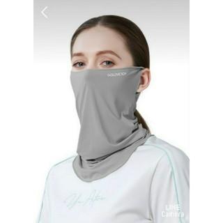 訳あり 2枚組 フェイスマスク  UVカット ひんやり冷感 スポーツ (ウォーキング)