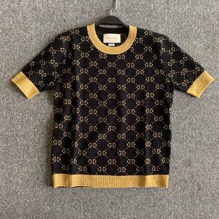 グッチ(Gucci)の安室奈美恵さん着用★GUCCI★GGスプリーム 半袖セーター (ニット/セーター)