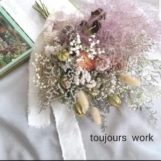 スワッグブーケ◇natural  flower◇◆(ドライフラワー)