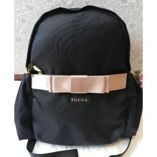 トッカ(TOCCA)の☆未使用☆TOCCAトッカおリボンリュック☆(リュック/バックパック)