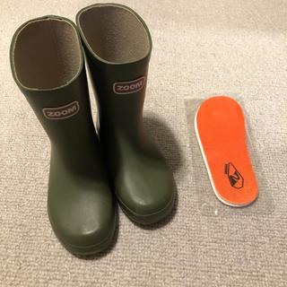 ズーム(Zoom)のzoom  レインブーツ 長靴 新品中敷付き(長靴/レインシューズ)