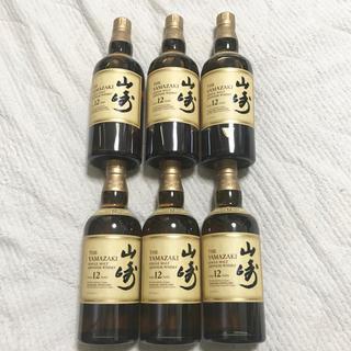 サントリー(サントリー)のサントリー 山崎12年 700ml × 6本(ウイスキー)