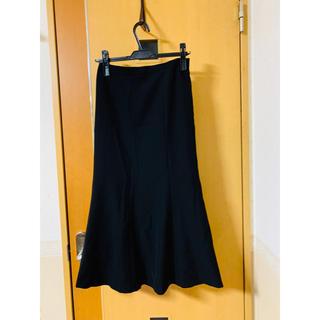 ロングスカート 3 L ブラック(ロングスカート)
