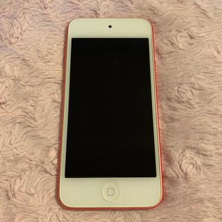 アイポッドタッチ(iPod touch)のiPod touch(ピンク) 第5世代 ジャンク品(スマートフォン本体)