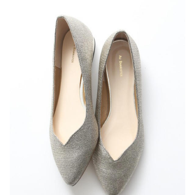 AU BANNISTER(オゥバニスター)のオゥ バニスター フラットシューズ パンプス レディースの靴/シューズ(ハイヒール/パンプス)の商品写真