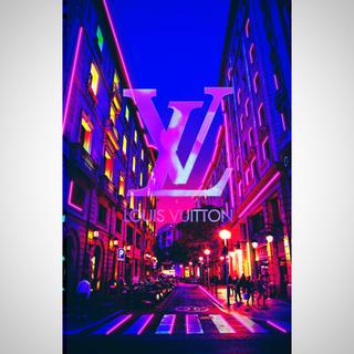 ルイヴィトン(LOUIS VUITTON)の【ルイヴィトン】インテリアポスター(ポスターフレーム)