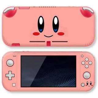 ニンテンドースイッチ(Nintendo Switch)の新品 Nintendo Switch Liteスキンシール カービィ ステッカー(シール)