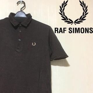 ラフシモンズ(RAF SIMONS)のRAF SIMONS FREDPERRY ラフシモンズ フレッドペリー ポロ(ポロシャツ)