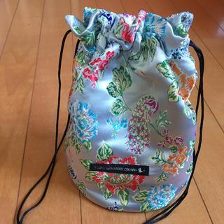 ツルバイマリコオイカワ(TSURU by Mariko Oikawa)のSTUDIOUSツルバイマリコオイカワ巾着バック手提げ(ハンドバッグ)