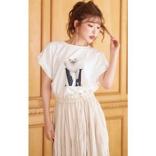 エイミーイストワール(eimy istoire)のDarich ニュアンスTシャツ(Tシャツ(半袖/袖なし))