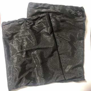 ドルチェアンドガッバーナ(DOLCE&GABBANA)のドルチェアンドガッパーナ保存袋黒 大小セット(ショップ袋)