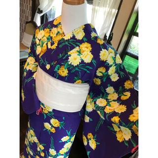 ユキコハナイ(Yukiko Hanai)の花井幸子 浴衣 可愛い黄色い花束(浴衣)