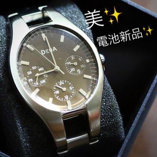 アルバ(ALBA)の電池新品✨ALBA腕時計 DEUA(腕時計)