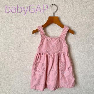 ベビーギャップ(babyGAP)のbabyGap ワンピース サイズ70(ワンピース)