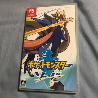 ニンテンドースイッチ(Nintendo Switch)のポケットモンスター ソード(家庭用ゲームソフト)