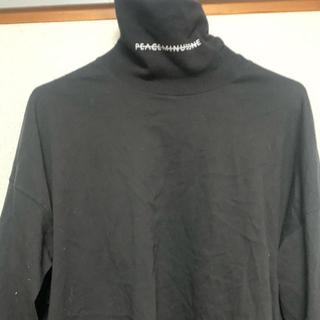 ピースマイナスワン(PEACEMINUSONE)のPeaceminusoneタートルネック(Tシャツ/カットソー(七分/長袖))