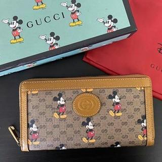 グッチ(Gucci)の【GUCCI ディズニー 財布】グッチ ミッキー コラボ Disney(長財布)