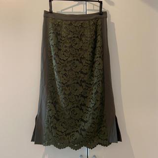 ガリャルダガランテ(GALLARDA GALANTE)のGALLARDAGALANTE レーススカート(ひざ丈スカート)