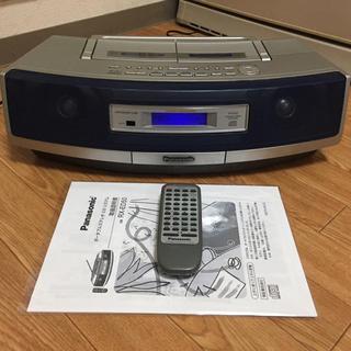 パナソニック(Panasonic)の【Panasonic】 CD ダブルラジカセ RX-ED50 USED(その他)
