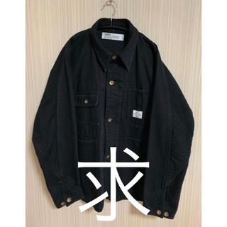 dairiku 18aw カバーオール セットアップ ブラック(カバーオール)