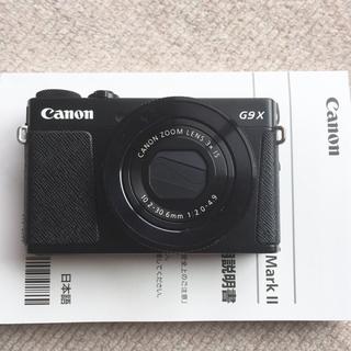 Canon - 長期保証 美品 G9X Mark2