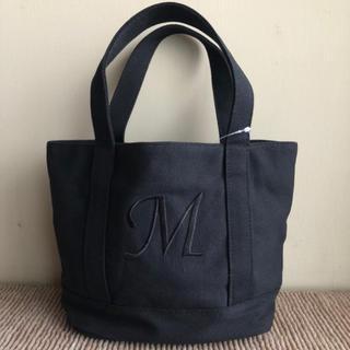 シマムラ(しまむら)の新品 新作 しまむら ミニ トートバッグ キャンバス  黒 M エルエルビーン (トートバッグ)