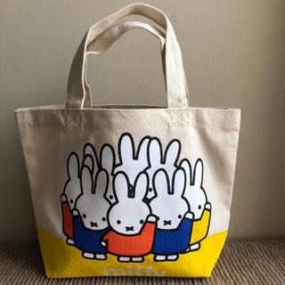 シマムラ(しまむら)の新品 完売 しまむら ミッフィ ミニ トートバッグ キャンバス  即購入(トートバッグ)