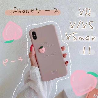 大人気♡パステルカラー iPhoneケース フルーツ 新品 シンプル 韓国(カトラリー/箸)