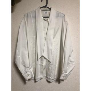 マルタンマルジェラ(Maison Martin Margiela)のチェコ軍 ボウタイシャツ デッドストック メンズサイズ(シャツ)