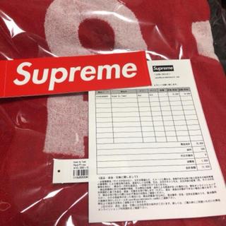 シュプリーム(Supreme)のSupreme    Known As Towel   早い者勝ち!(タオル/バス用品)