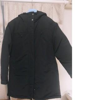 ジーユー(GU)のGUダウンジャケット 黒 ワンサイズ メンズ レディース(ダウンジャケット)