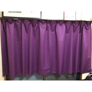 ニッセン(ニッセン)の一級遮光カーテン100×110cm(2枚組)パープル(カーテン)