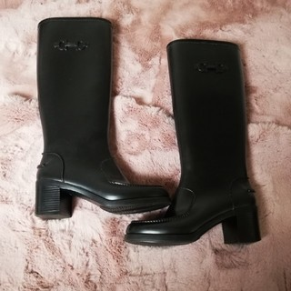 サルヴァトーレフェラガモ(Salvatore Ferragamo)のフェラガモ レインブーツ サイズ6(レインブーツ/長靴)