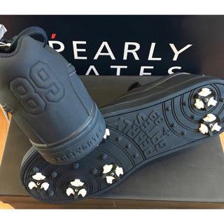 パーリーゲイツ(PEARLY GATES)の新品 パーリーゲイツ NEWローカットスパイク シューズ 25.5cm 紺(シューズ)