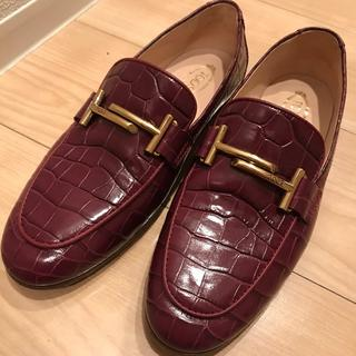 トッズ(TOD'S)のTOD'S 靴(スリッポン/モカシン)