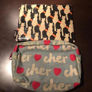 シェル(Cher)のポーチ2個セット(Cher、ポール&ジョー)(ポーチ)