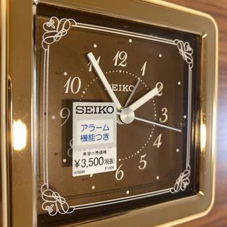 セイコー(SEIKO)の取引済 SEIKO 目覚まし時計 未使用(置時計)