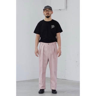 1LDK SELECT - NEAT USA TROUSERS L'ECHOPPE別注 ニート ピンク 36