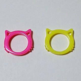 猫リング 2個セット(リング(指輪))